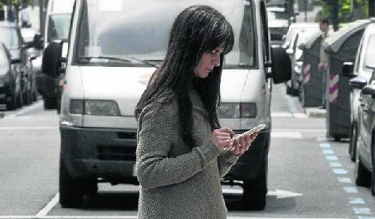 Multas de tráfico con radares móviles a peatones