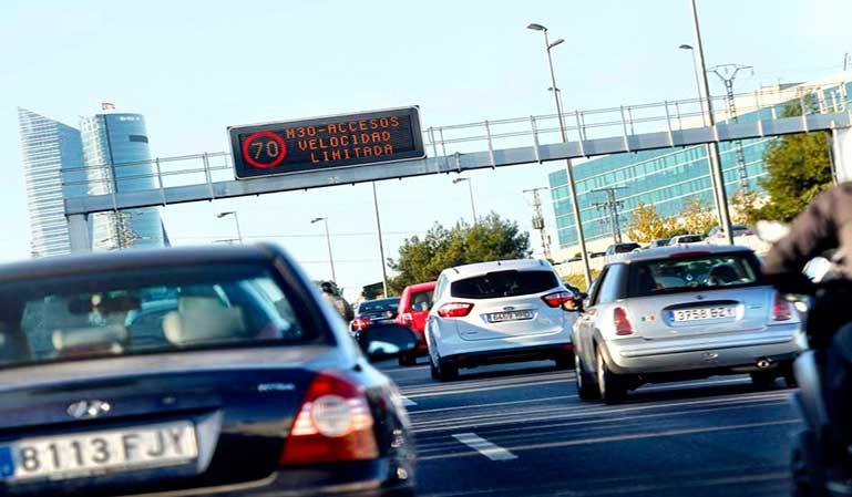 Multas de velocidad perdonadas en Madrid