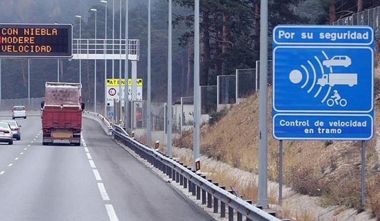 Nuevos radares de tramo para vías secundarias