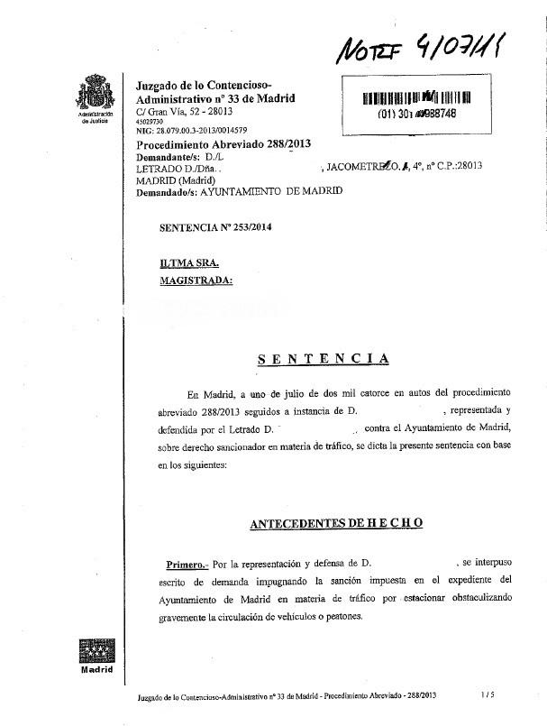Página 1 Sentencia 2