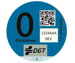 Las pegatinas de la DGT ya cuentan en Madrid