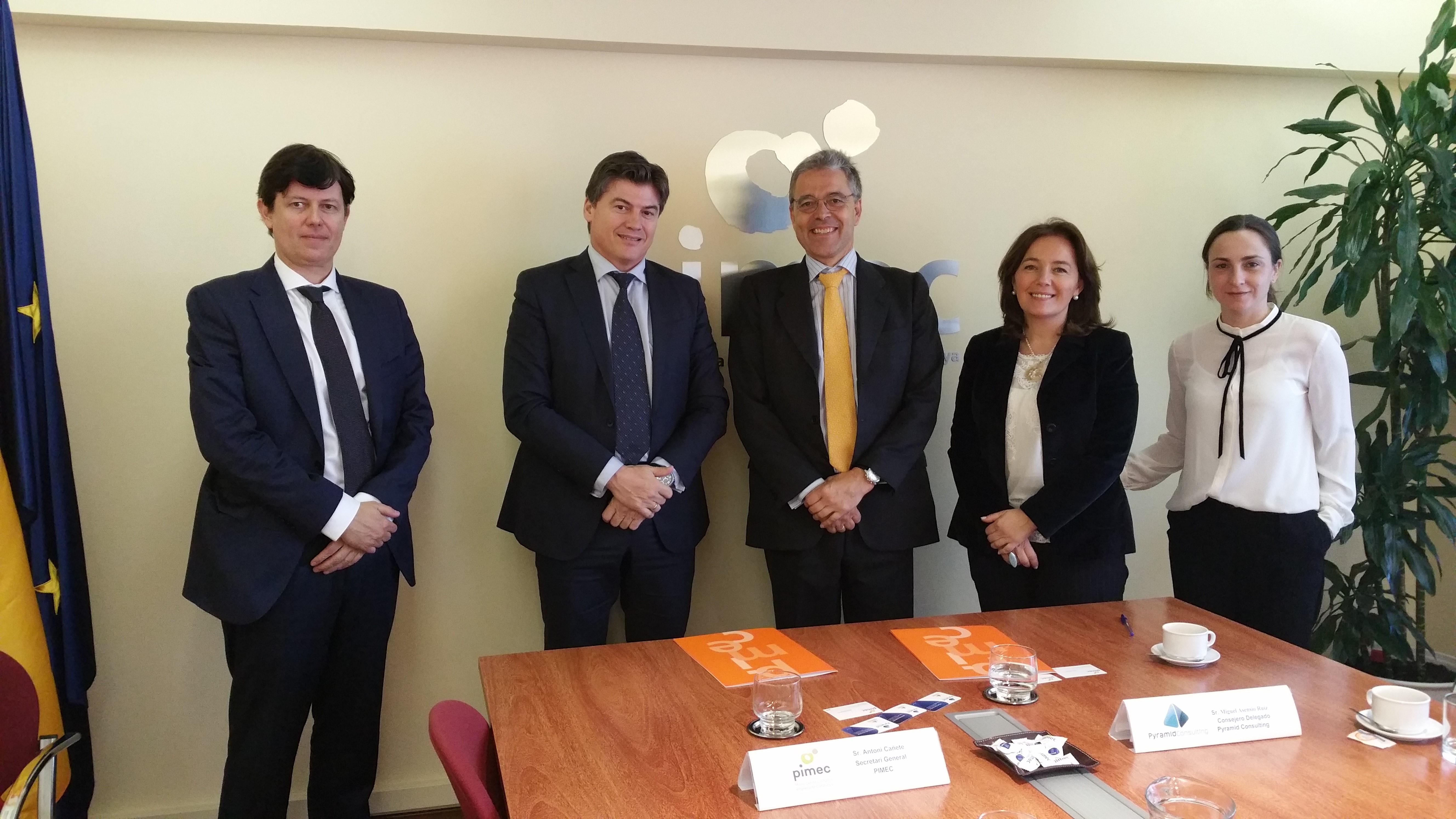 Los socios de PIMEC se beneficiarán de un nuevo acuerdo
