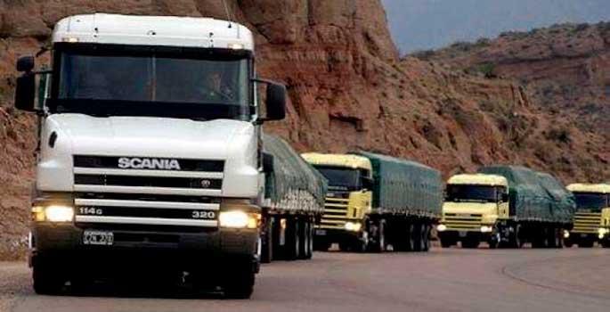 Los peajes no serán obligatorios para los camiones