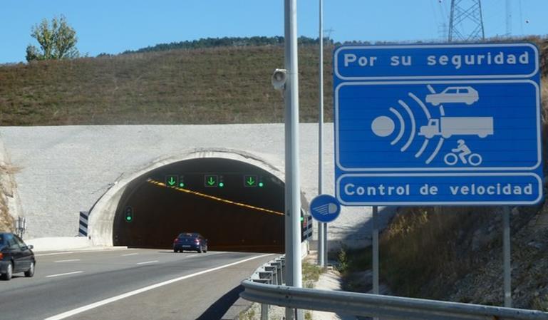 Radar tramo AP-6 Segovia