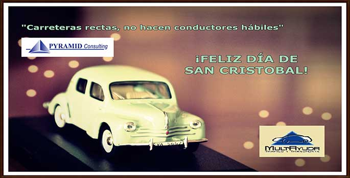 ¡Pyramid Consulting felicita a los conductores por San Cristobal!