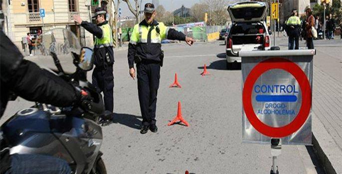 Tráfico intensifica controles de alcohol y drogas
