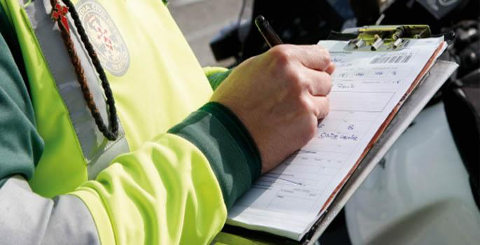 Un conductor se libra de multa porque Tráfico envía sobre vacío