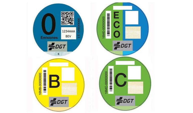 Cambios en las etiquetas de la DGT, quienes se benefician