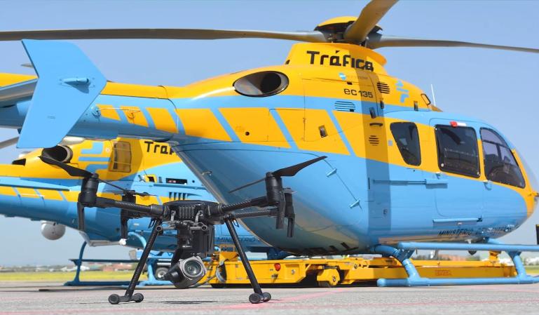 Drones para 'cazar' infracciones en Semana Santa