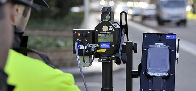 Los radares móviles, la mejor trampa para poner multas