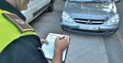 mal aparcamiento genera en Orense un alto número de multas