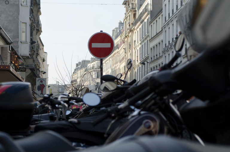 Regulación de circulación de motocicletas del Ayuntamiento de Barcelona