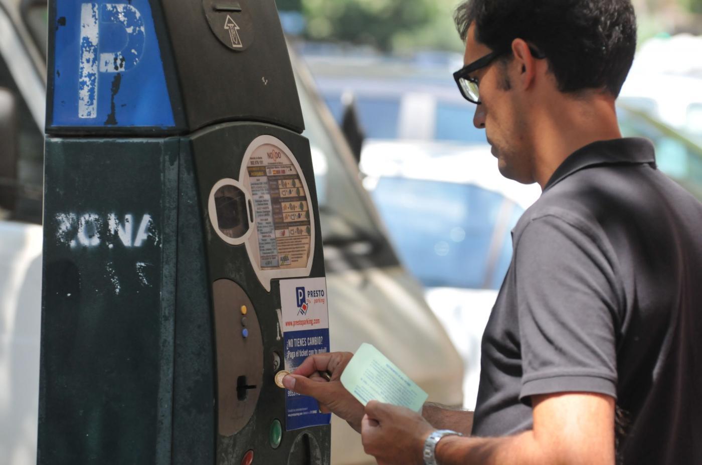 pagar multa aparcamiento zona azul