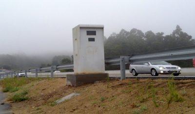 Radares en vez de badenes para multiplicar las multas de tráfico