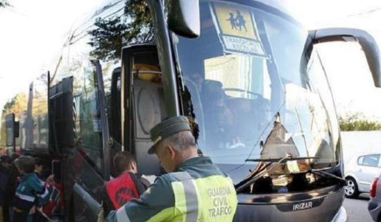 Resultados de la campaña de control de transportes escolares