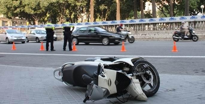 Barcelona preocupada por el aumento de accidentes de tráfico en motoristas