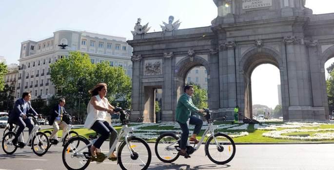 BiciMad pone sus bicicletas al servicio de usuarios ocasionales