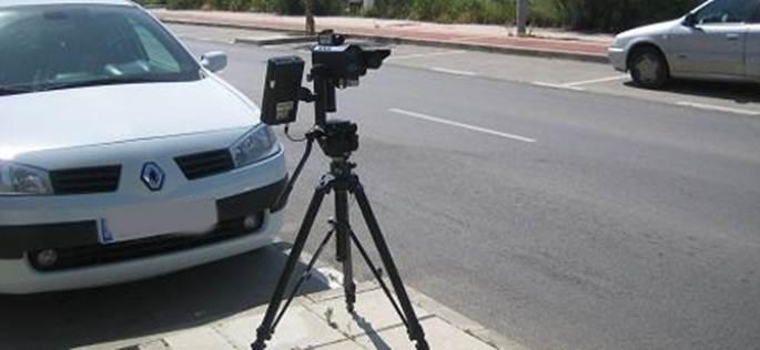 El interés de los radares móviles en Madrid para 2015