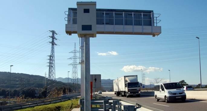La recaudación por multas de tráfico en las regiones de España