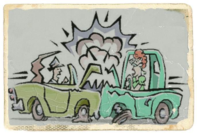 Los pasos a seguir en accidentes de tráfico leves