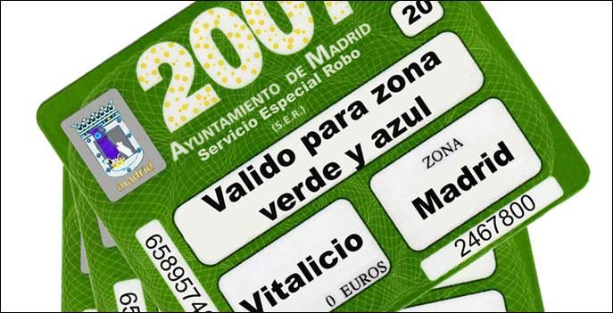 Nueva operativa con la tarjeta del SER para residentes de Madrid