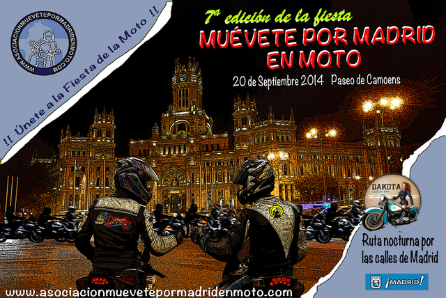 Pyramid Consulting se una a la fiesta de Muévete por Madrid en Moto